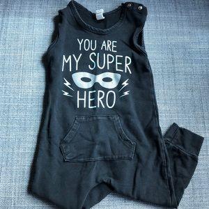 Earthbaby Superhero Bodysuit